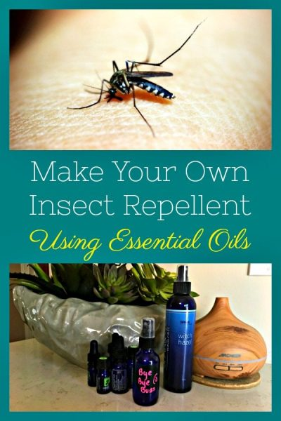 Make Your Own DIY Insect Repellent Using Essential Oils