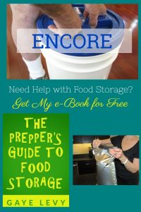ENCORE: Get My Food Storage eBook for Free on Amazon Nov 3-7