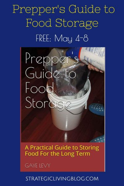 Get Preppers Guide to Food Storage for Free