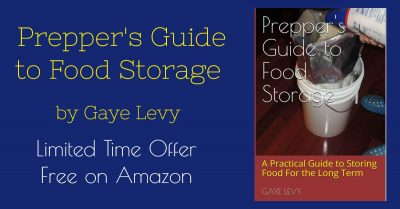 Get Preppers Guide to Food Storage Fre
