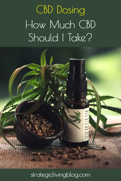 How Much CBD Should I Take | Strategic Living Blog